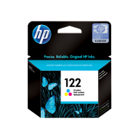 Трехцветный картридж HP 122 for Deskjet 1000/1050/2000/2050/2050s/3000/3050, up to 100 pages. (CH562HE)