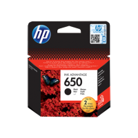 HP 650, Оригинальный картридж HP Ink Advantage, Черный for Deskjet Ink Advantage 2515, up to 360 pages.(CZ101AE)