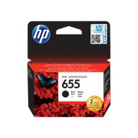 HP 655, Оригинальный картридж HP Ink Advantage, Черный for Deskjet Ink Advantage 3525/4615/4625/5525/6525, up to 550 pages. (CZ109AE)